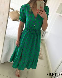 Modest Dresses, Modest Outfits, Skirt Outfits, Casual Dresses, Short Sleeve Dresses, Casual Outfits, Summer Dresses, Work Fashion, Modest Fashion