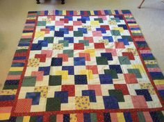Hanky Panky quilt made by Sharon Theriault