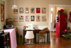 Studio Space, like the clipboard display