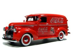 COCA COLA 1941 CHEVROLET Suburban Delivery Truck  By Danbury Mint... I would love to have this and drive it around :)