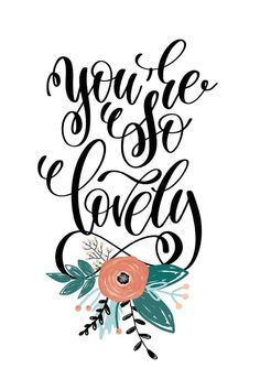 You are so Lovely - Love Card #greetingcards #printable #diy #Love #romance #emotion #passion Love Days, Thoughts And Feelings, Printable Cards, Text Messages, Greeting Cards, Romance, Invitations, Island, Templates
