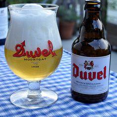 Duvel belgian golden ale, sem preconceito com essa loira.