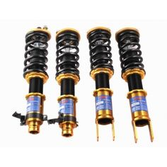Adjustable-KLINEO has been registered around the world. We have 18 years production experience in shock absorber and won the TS16949 quality certification. Our products are quality and stable. This coilover Shocks for HONDA Civic 1996-2000 height adjustment & 6 level adjustable dampening ,this make the froce more stable and more balance Adjustment tools included