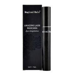 Magical Halo Lace Mascara 3D Black Waterproof Eyes Cosmetics Professional Fiber Lashes Mascara Curling Lengthen Eyelash