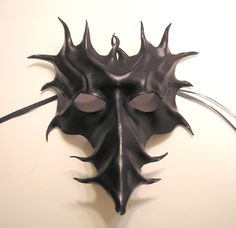 Black Long Nose Leather Mask by ~teonova on deviantART