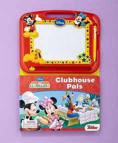 Drawing Pad Activity Books Mickey Clubhouse