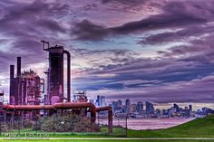 Seattle Photography   Sunrise at Gas Works