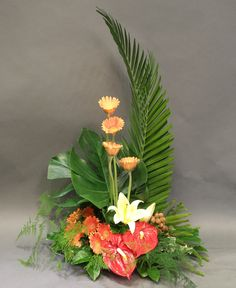 Printing Videos Architecture Home Printing Model Architecture Code: 8389757009 Tropical Flowers, Tropical Flower Arrangements, Creative Flower Arrangements, Church Flower Arrangements, Beautiful Flower Arrangements, Exotic Flowers, Beautiful Flowers, Colorful Flowers, Ikebana Arrangements