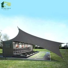 Container Coffee Shop, 20ft Container, Container Shop, Container House Plans, Container House Design, Container Buildings, Container Architecture, Boxe Fitness, Shipping Container Cafe