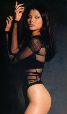 Kelly Hu has a black belt in karate and trains in kickboxing. When she was a little girl, her older brother would arrange for her to fight neighborhood boys....so she was a cage fighter too....LOL http://hubpages.com/sports/Beautiful-But-Deadly-3-TV-and-Movie-Actresses-Who-Could-Hurt-You