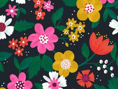 Floral Pattern by Alyssa Nassner