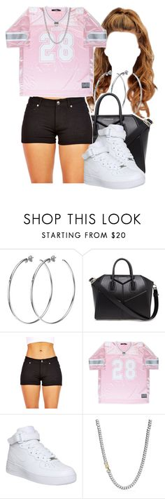 """""""Fire"""" by queen-tiller ❤ liked on Polyvore featuring DKNY, Givenchy, NIKE and David Yurman"""