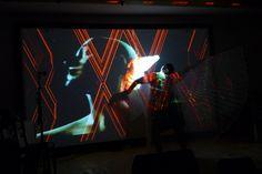 "Transmedial Literature Performance ""KörperBilder"" (Body images) Text/Perfomance: Rhea Krcmárová Projection Art by Sound: Henric Fischer/Das Stadtkind Photo (c) Hubert Sielecki Body Images, Literature, Design, Art, Literatura, Art Background, Kunst, Body Mods"