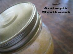 Make your own antiseptic mouthwash!