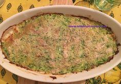 Tortino di zucchine, patate e speck