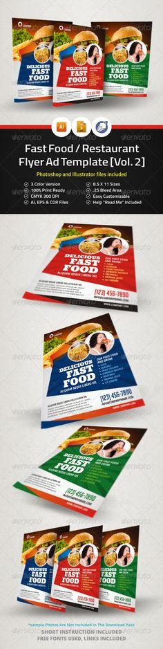 Restaurant Menu Tri-fold Brochure Tri fold brochure, Tri fold - sample restaurant brochure