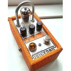 effectpedal: Electric Death Pedals Juicebox, a Martin Samuels (@martpaulsam) creation. #effectpedal #overdrive