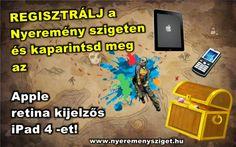 Regisztrálj és Nyerj Full HD TV-t vagy iPad-et! Paintball, Ipad, Tv, Television Set, Television