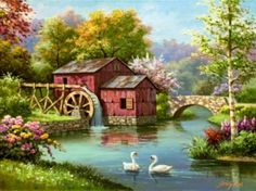 Old Water Mill (108 pieces)