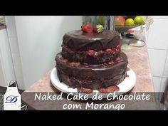 MINI NAKED CAKE DE CHOCOLATE E NUTELLA (Bolo Pelado)   Depois dos Quinze 24 #ICKFD - YouTube
