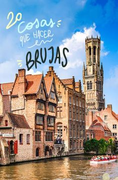 20 cosas que ver y hacer en Brujas Places To Travel, Travel Destinations, Places To Visit, Travel Goals, Travel Tips, Wonderful Places, Beautiful Places, Francia Paris, Travel Around The World