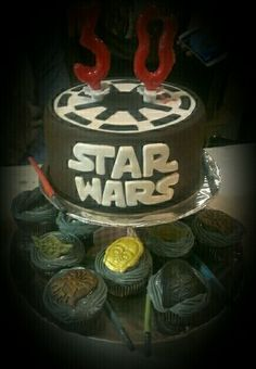 Tarta/pastelitos Star Wars