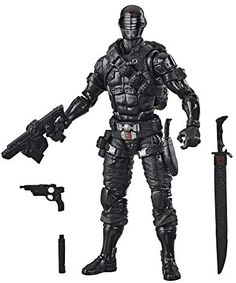 Hasbro G.I. Joe Classified Series Snake Eyes Action Figure 02 Collectible Premium Toy with Multiple Accessories 6-Inch Scale with Custom Package Art Katana, Snake Eyes Gi Joe, Cobra Commander, Fight For Freedom, Poses, Custom Packaging, Best Artist, Custom Art, Action Figures
