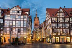 Altstadt mit Marktkirche in Hannover, Germany- Leibniz Universitat, Hannover, Germany, International Business
