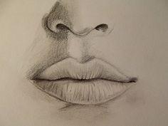 Realistischen Mund zeichnen - Zeichen Tutorial
