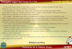 Misioneros de la Palabra Divina: EVANGELIO - SAN LUCAS 11,1-13