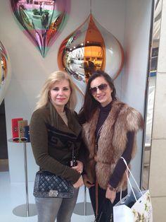 Fox fur vest by Marishka Boutique