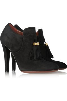 Gucci Tasseled suede ankle boots [thebest1703] - $232.00 : Discount Christian Louboutin - Jimmy Choo and other Brand shoes store