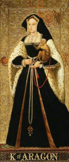 Katherine of Aragon Marys mother Henry VIII first wife. Mary was sent away from court and not permitted to see her mum. Caused her great stress. Tudor History, European History, Women In History, British History, Art History, History Facts, Ancient History, Enrique Viii, Costume Renaissance