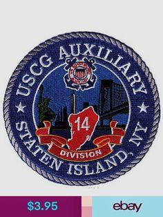 Embroidered & Applique Patches Collectibles Party Logo, Staten Island, Coast Guard, Juventus Logo, Liberty, Applique, Patches, Statue, Logos