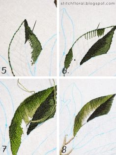 hand embroidery stitches tutorial step by step Embroidery Stitches Tutorial, Embroidery Flowers Pattern, Creative Embroidery, Embroidery Patterns Free, Learn Embroidery, Hand Embroidery Stitches, Crewel Embroidery, Hand Embroidery Designs, Embroidery Techniques