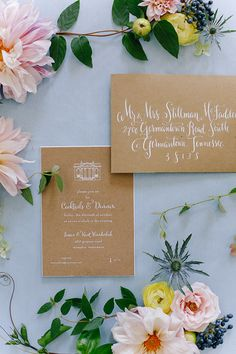 Floral Inspiration by Annabella Charles, Haute Horticulture, and Everbloom Designs. Stationery by Natalie Chang
