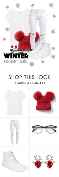 """""""Untitled #524"""" by msfts-rep on Polyvore featuring Splendid, Gap, FiveUnits and Vans"""