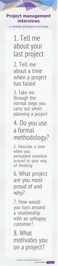 program management interview questions