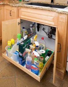 53 Kitchen Cabinet Organization Hack Ideas