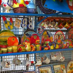 Pretty painted crockery for sale in Alte.