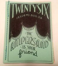 Tauba Auerbach - TWENTYSIX - The Ampersand Is Your Friend, 2004 Rare Artist Book