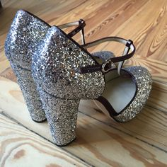 Glitter Shoes Custom & Chic