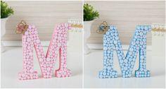 As letras decorativas para quarto de bebê são capazes de dar um up na decoração de qualquer quartinho. Veja o novo modelo de letra em MDF da Grão de Gente!