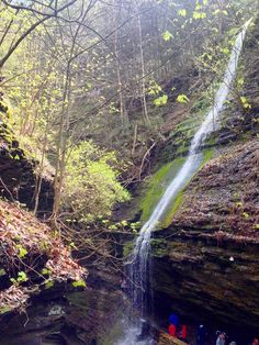 Situated in Upstate New York, Watkins Glen State Park is the prettiest waterfall destination I've ever been and here's why you have to go!