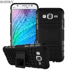 For Samsung Galaxy J5 Case J500F Heavy Duty Armor Shockproof Hybrid Hard Silicone Rubber Phone Case Cover For Samsung J5 2015 *<