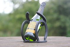 Horseshoe Wine Holder by WombleShoes on Etsy