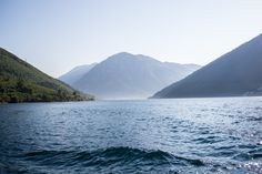Montenegro, View from ferry
