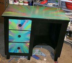 unicorn spit aura blast over chalk paint