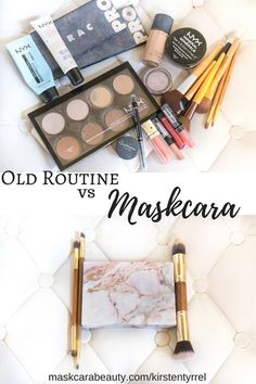 My Old Makeup Routine Vs. Maskcara! Simple, easy to use beautiful makeup
