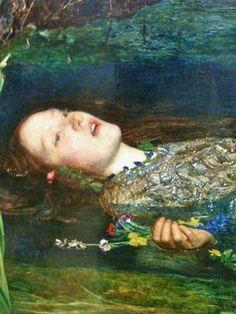 John Everett Millais, Ophelia (Detail)